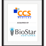 CCS Medical acquired by BioStar Ventures