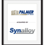 Palmer of Texas acquired by Synalloy